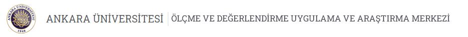 Ölçme ve Değerlendirme Uygulama ve Araştırma Merkezi  Logo